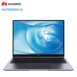 Wholesale 2019 Nouveau HUAWEI MateBook ordinateurs portables Netbooks pouces huitième génération i5 U GB GB Set Win10 empreinte digitale China Edition