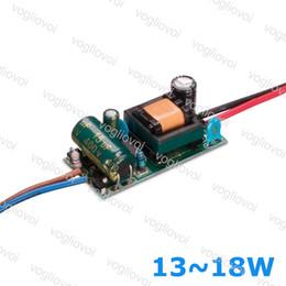 2019 ampoule 16w Transformateur Led 300MA AC110 AC220V AC240V IP20 13W 14W 15W 16W 17W 18W Pour Downlight Ampoule Spotlight Construit En Pilote Circuit Imprimé EPACKET promotion ampoule 16w
