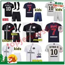 eff33f109e0 Camisolas de futebol PSG AIR JORDAN 3RD 2018 camisa de futebol psg jordan  Homens e crianças 2019 Paris Saint Germain jerseys campeões NEYMAR JR MBAPPE  ...