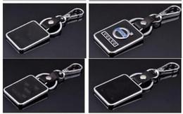 Alta qualidade Chaveiro de Couro Chaveiro Key Hold Emblemas Auto Peças acessórios Fit para Peugeot KIA Volvo Chevy Opel Renault de