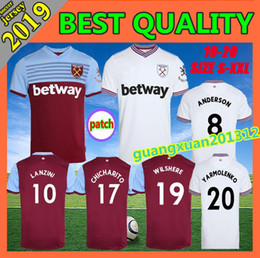 04139cafb5d 19 20 West Ham soccer jerseys United 2019 2020 home away WILSHERE Anderson  Chicharito LANZINI ARNAUTOVIC Diop CHILD football shirts