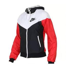 Женские куртки ветровки онлайн-Новый спортивный ветровка для женщин с принтом письма patchwokr женские дизайнерские куртки мода работает фитнес-куртки женские