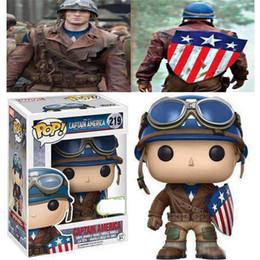 2019 mario lanyard al por mayor FUNKO POP ECCC 2017 Primavera Edición Limitada Capitán América Modelo Decoración Muñeca PVC Figura de Acción Juguetes