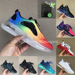 Eva veilleuse en Ligne-720OG Noir Neon Stries Be True Wolf Gris Orbite Rouge Northern Lights jour nuit Triple Black hommes hommes chaussures de course air baskets