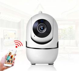Sicurezza Monitor automatico senza fili Monitoraggio della sicurezza della telecamera 1080P Monitor di sicurezza WiFi Smart Alarm Monitor per interni per telecamera da