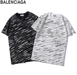 2019 bolas vermelhas grandes Paris marca bb marca t-shirt dos homens designer carta clássica impressão tshirt preto e branco de alta qualidade hot boutique de luxo t shirt verão