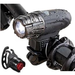 06b86632972 rear bike light usb 2019 - USB Rechargeable LED Bicycle Bright Bike Front 1  Headlight+ 2