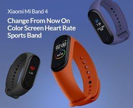 xiaomi mi фитнес-группа Скидка Новый Оригинальный Xiaomi Mi Band 4 Умный Цветной Экран Браслет Heart Rate Fitness 135 мАч Bluetooth 50 М Плавательный Mi Водонепроницаемый