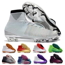Mercurial Superfly CR7 V Zapatos de fútbol FG Mujer Hombre Botas de fútbol Magista Obra Botines de fútbol para jóvenes Cristiano Ronaldo Tamaño 39-46 desde fabricantes