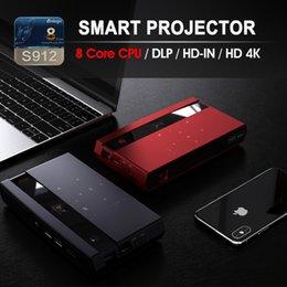 Projetor de Controle de Voz Mini estilo de moda Top item AI em sua mão OEM e ODM computador fábrica de Fornecedores de projetor 3d barato