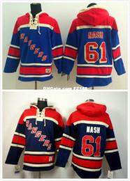 2019 nash hoodie Factory Outlet, 61 Рик Нэш хоккей с капюшоном Нью-Йорк Рейнджерс мужской хоккей толстовки кофты скидка nash hoodie
