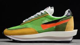 Scarpe articolazioni online-2019 Nuovo Arrive Fashion Show congiunto Sacai x LVD Waffle Daybreak Running Shoes Mens da uomo di alta qualità Classic Sneakers Sport Size 40-45