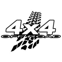 auto adhesivos 4x4 Rebajas 4X4 para Auto Car Window Vinyl Decal Sticker calcomanías decoración pegatinas guapo y fresco