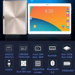 телефон 5mp Скидка Бесплатная доставка S119 10.1 'планшетов Android 8.0 Octa Core 32 ГБ 64 ГБ ПЗУ Двойная камера 5MP Dual SIM планшетный ПК Wi-Fi GPS Bluetooth телефон