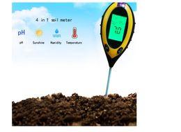 Probador de suelo cuádruple Detector de suelo electrónico Fotómetro de pH de PH Instrumento de conteo y prueba de humedad y humedad desde fabricantes