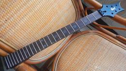 Высший сорт незавершенных деталей электрогитары EVL-K4 Guitar Neck 24 лад, палисандр Гриф -17-11 от