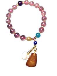 Pulsera de cera de abeja online-Koraba Fine Jewelry Natural Beeswax Bracelet Envío Gratis