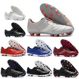 purchase cheap be948 d838b Nouveau Hommes Basse Chaussures De Football Tiempo Legend VII FG Chaussures  de Football Original Premier 2.0 FG Crampons De Football En Plein Air  chaussures ...