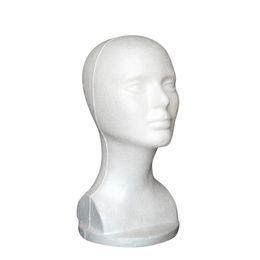 New Fashion Hat Hair Wig Mannequin Stand Display Modello testa tete de perruque S1 da