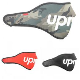 Tarnung fahrrad online-Halten Sie warme Fahrradmasken Sup Marke Männer und Frauen Mode Windbreak Nachtlauf Camouflage Rot und Schwarz Falten heißer Verkauf