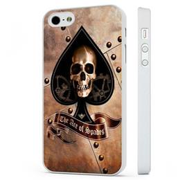 Canada Cas de téléphone de crâne d'as de pique pour l'iphone 5c 5s 6s 6plus 6splus 7 7plus Samsung Galaxy S5 S6 S6 S6 S7ep Offre
