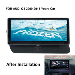 "gps navi Coupons - COIKA 10.25"" Android 8.1 System Car Auto Head Unit For Q5 2009-2018 GPS Navi 2+32G RAM WIFI Google SWC Phonelink BT IPS"