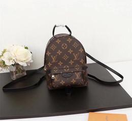 Argentina Diseñador de primera calidad mochila bolso bandolera presbicia paquete mini bolsa de mensajero móvil phonen monedero real de cuero genuino M41562 Suministro