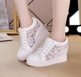 Kaufen Sie im Großhandel Damen Weiße Keilhacke Schuhe 2019