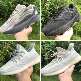 2019 700 V2 Kanye West Non-Reflective-boosts 350s Wave Runner релиз облако Белый цитрин Лундмарк синтезатор черный статический гид Зебра глина кунжут от