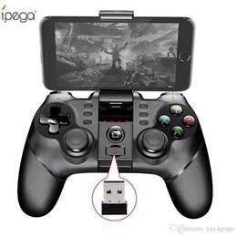 2019 ipega ios игры Хо iPega PG-9076 Беспроводная связь Bluetooth Геймпад 3in1 Игровой контроллер Игровая приставка Джойстик с 2,4 Г для PS3 IOS Android Мобильный телефон iPhone PC TV дешево ipega ios игры