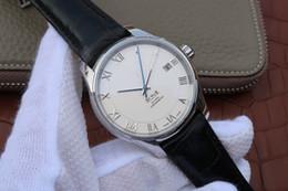 relógios de couro v6 Desconto V6-431.13.41.21.02.001 relógio de luxo pulseira de couro Italiano 8500 função de calendário mecânico automático do movimento de luxo mens relógios