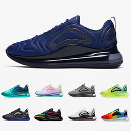 Nike Air max 720 shoes 2019 KPU Fuel Orange Black Speckle Pride Spirit Teal Uomo donna Scarpe da corsa Gym Red Obsidian Easter Pack Total Orange Mens Sports Sneakers da scarpe da ginnastica nere arancione fornitori