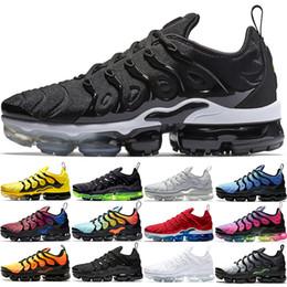 Nike Air Vapormax Plus Männer Frauen Laufschuhe Designer Trainer BE TRUE Dreifach Schwarz Weiß Rot Silber Hyper Violet Günstige Sport Sneaker Größe