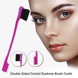 18CM Haar-Bürsten-3color Schönheit-doppelseitige Randkontrolle-Haar-Kamm-Haar-Styling von Fabrikanten