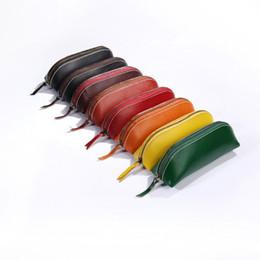 Portamonete originale 2019 New giapponese semplice fatto a mano in pelle di primo strato concia al vegetale in pelleSacchetto di plastica per borse secche da bella borsa all'ingrosso fornitori