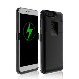 Huawei honor cargador online-Para el caso del cargador de batería de Huawei honor 8 Para el banco de la energía de Huawei 20000mAh Caso de carga Cubierta de respaldo Caso del cargador