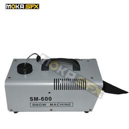Floco da máquina da neve de Moka MK-S03 600W / máquina da neve de Spary para o equipamento da fase do banquete de casamento do evento do DJ de Fornecedores de tubo rápido