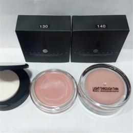 melhores marcas de maquiagem Desconto Hot Marca de Luz Através de Fino Maquiagem Corretivo 2 Cores Couture Paletas Bronzer Highlighter Make Up Kit Melhor qualidade