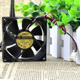 Fan pour adda en Ligne-ADDA 8025 12V 0.55A AD0812XB-A73GL Ventilateur de châssis de grande capacité à 3 lignes