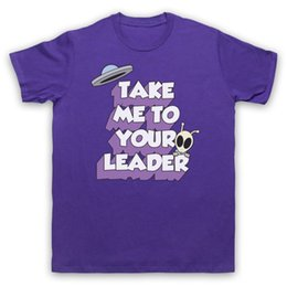 8fb320eb TAKE ME TO YOUR LEADER RETRO UFO SPACE ALIEN FUNNY SCI FI T-SHIRT ADULTS  affordable ufo shirt