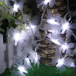 Luz da estrela da borboleta on-line-De origem natal decoração da árvore de natal lâmpada nova luminescência padrão de borboleta led luzes coloridas estrelas lâmpada cadeia best sellers