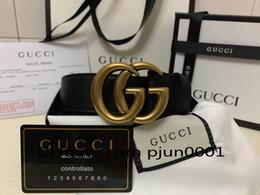 Canada 2018 Ceinture de haute qualité pour hommes en cuir véritable designer G boucle ceintures ceintures de luxe pour hommes femmes mode boucle ardillon Offre