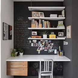 Sofá gris negro online-3d Fashion Black Wallpapers Tapety Non Woven Grey Sand Murales de pared Sala de estar TV Sofá Fondo Papel de pared Rollo para paredes