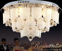 Plafoniere Moderne Per Sala : Sconto moderne lampade a sospensione in cristallo rotondo