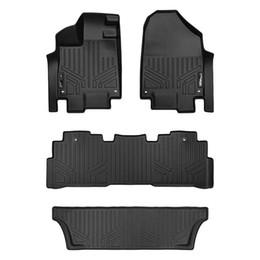 Canada Tapis de sol, revêtement de 3 rangées, noir pour Honda Odyssey 2018-2019 - Tous les modèles Offre