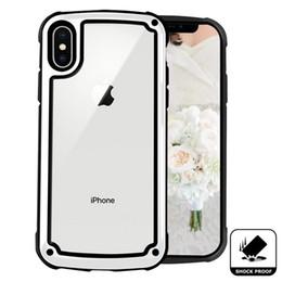 2019 edizione telefono nero Radice Heavy Duty Trasparente Acrilico Morbido Morbido Caso Aribag per iPhone XR XS MAX X 8 7 6 Samsung S8 S9 S10 5G Plus S10E Nota 9 M10 M20