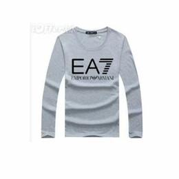 aktive baumwollspitzen Rabatt Herren Damen Langarm Luxus 100% Baumwolle T-Shirts T-Shirts Modedesigner Casual Active T-Shirts Hemden Tops 9 Farben