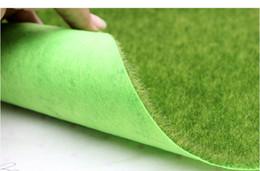 2019 пластиковый искусственный мх 30 * 30 см / шт, высокое качество искусственного пластика завод небольшой мох газоны, поддельные травы ковер, Рождество миниатюрный сад, домашний декор , скидка пластиковый искусственный мх