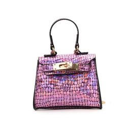 Paillettes giocattoli per bambini progettista ragazze deposito borse borsa del fumetto Zaini hop-pocket dei regali di natale borse da