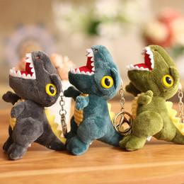 pantofole animali imbottiti Sconti Creativo Big Mouth drago piccolo ciondolo sveglio del dinosauro catena bambola Key Boutique vacanza Lanciare Wedding Gifts